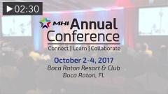 MHI Annual Conference: Mark Your Calendar