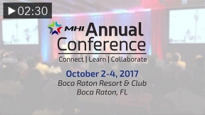 MHI Annual Conference: Mark Your Calendar