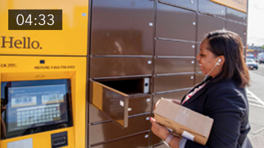 Smart City Logistics and Last Mile Delivery