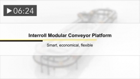Interroll's New Modular Conveyor Platform