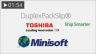 Toshiba Minisoft DB-EA4D Barcode Form 1